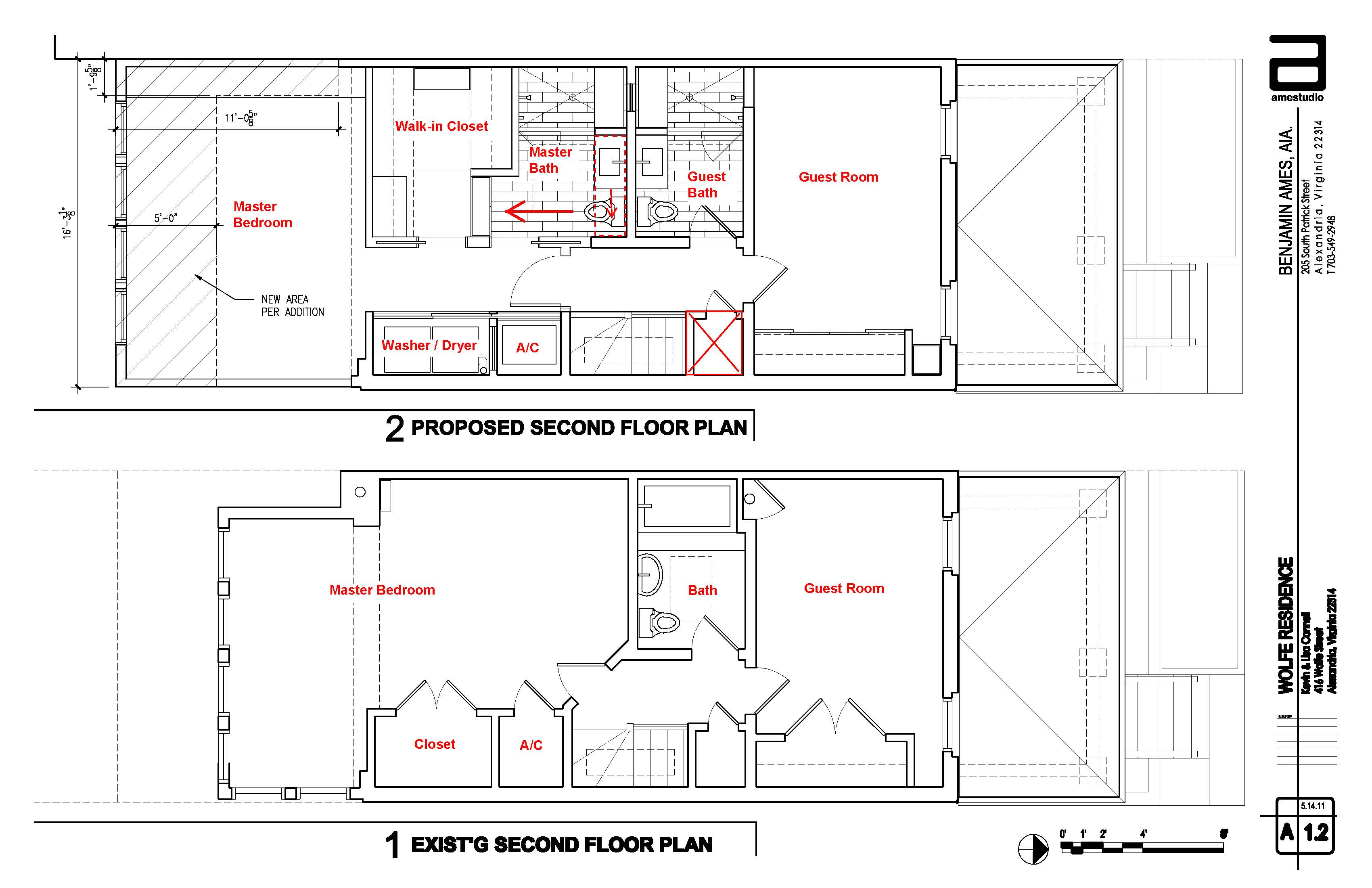 The second floor gets a little definition wolfestreetproject for 2nd floor addition plans
