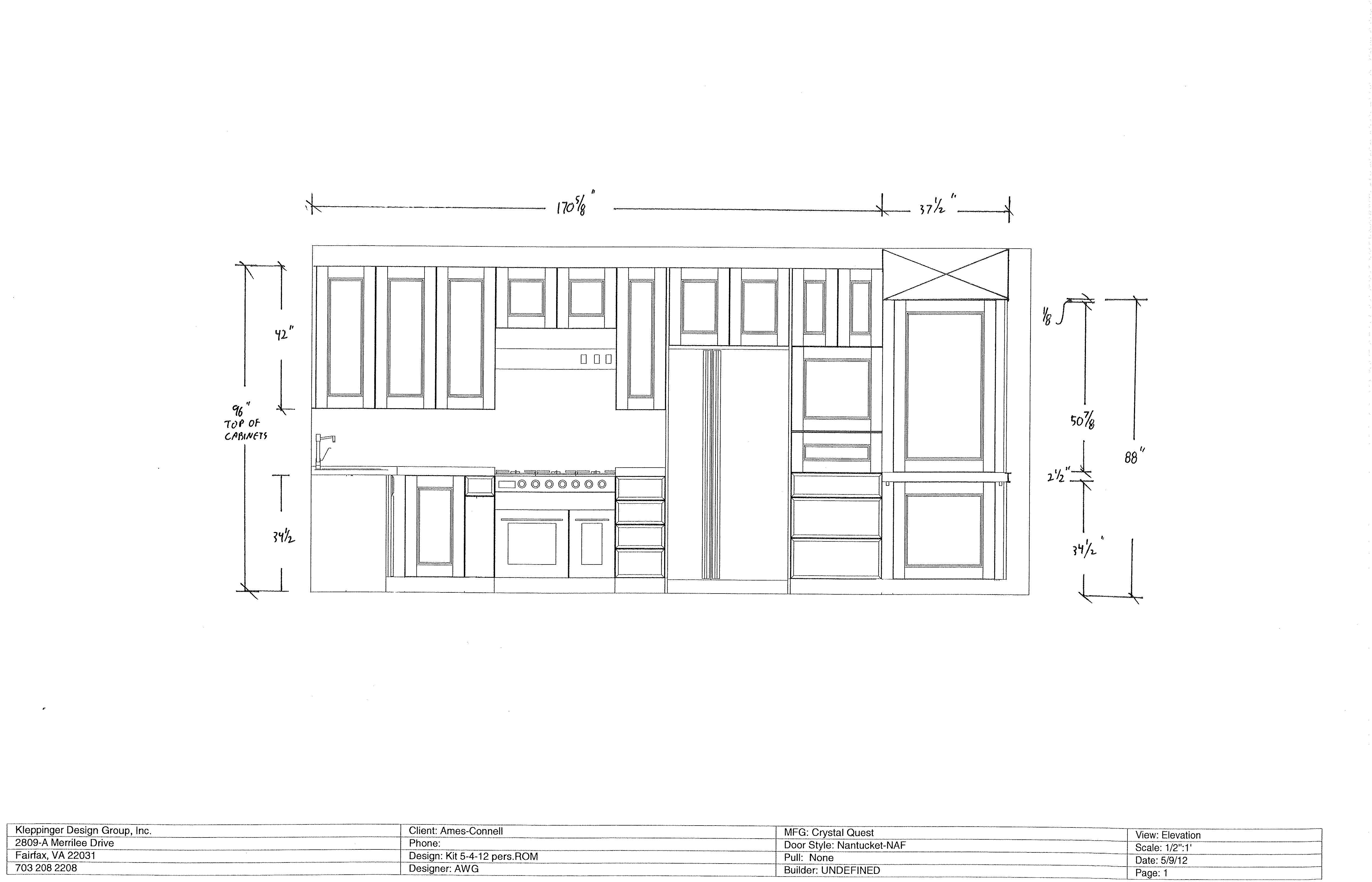 Elevation Plan Of Kitchen : Kitchen design crosses the finish line wolfestreetproject