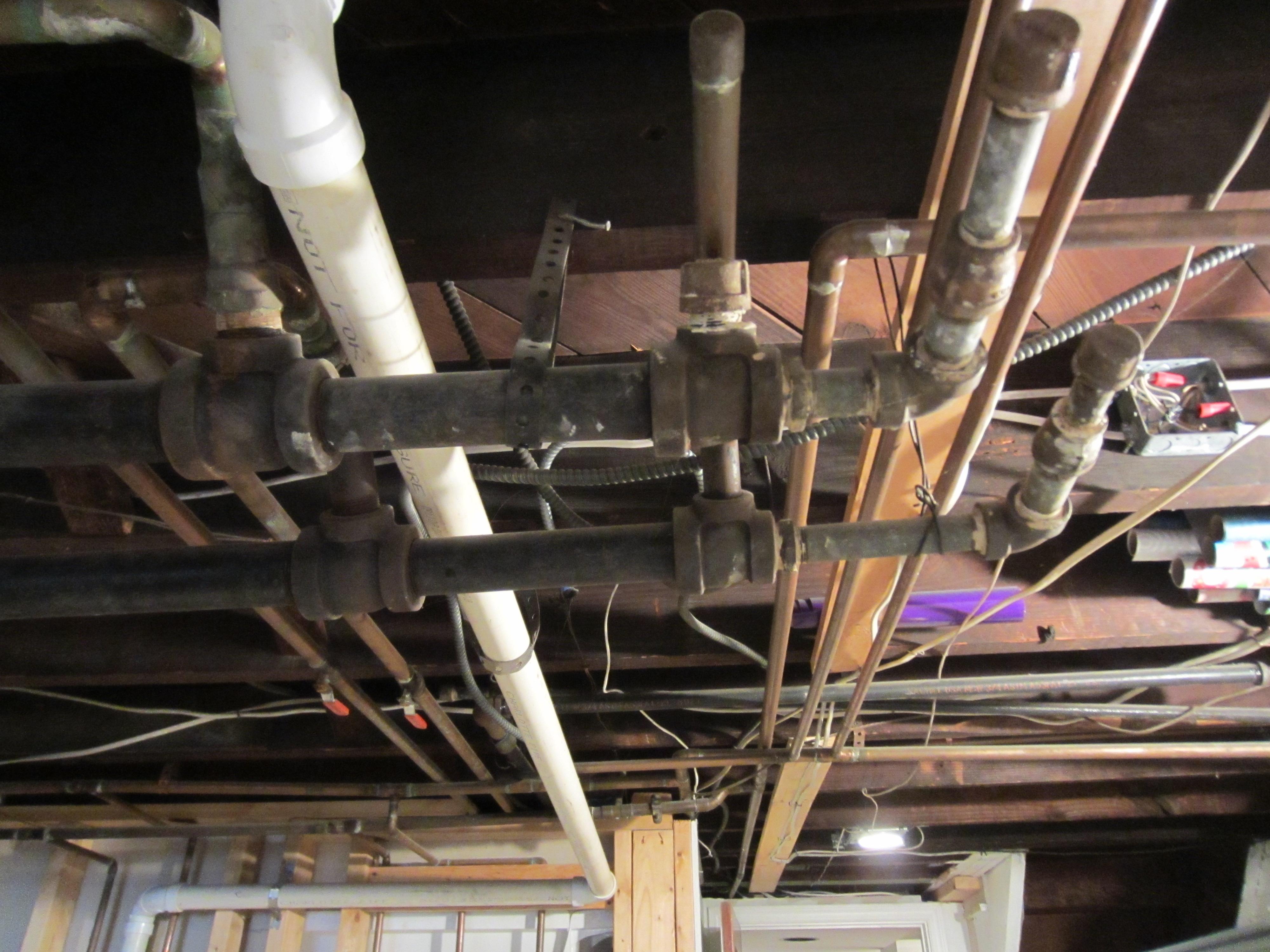 Basement Utilities Reach Critical Mass Wolfestreetproject Romex Wiring In All