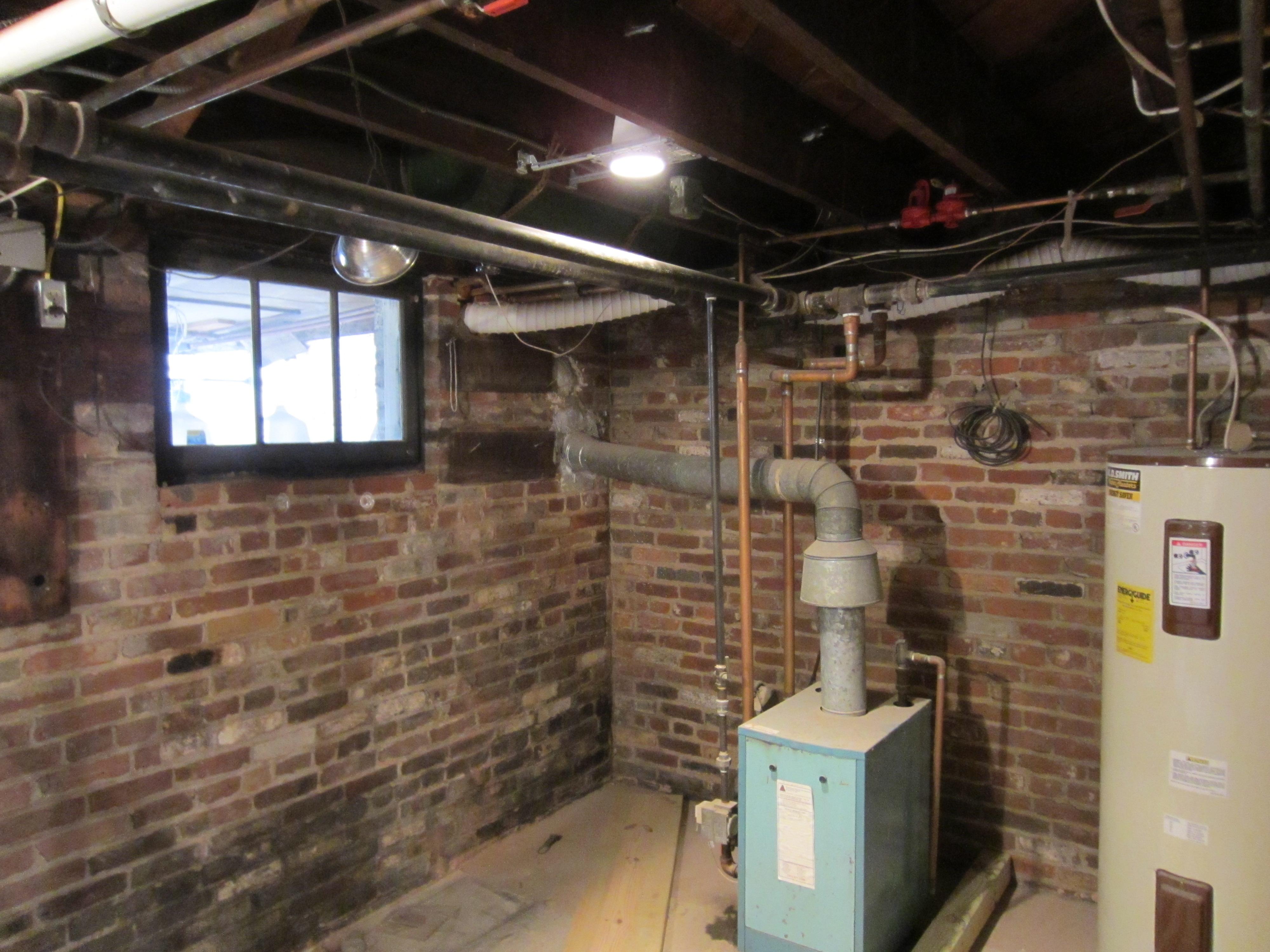 basement utilities reach critical mass