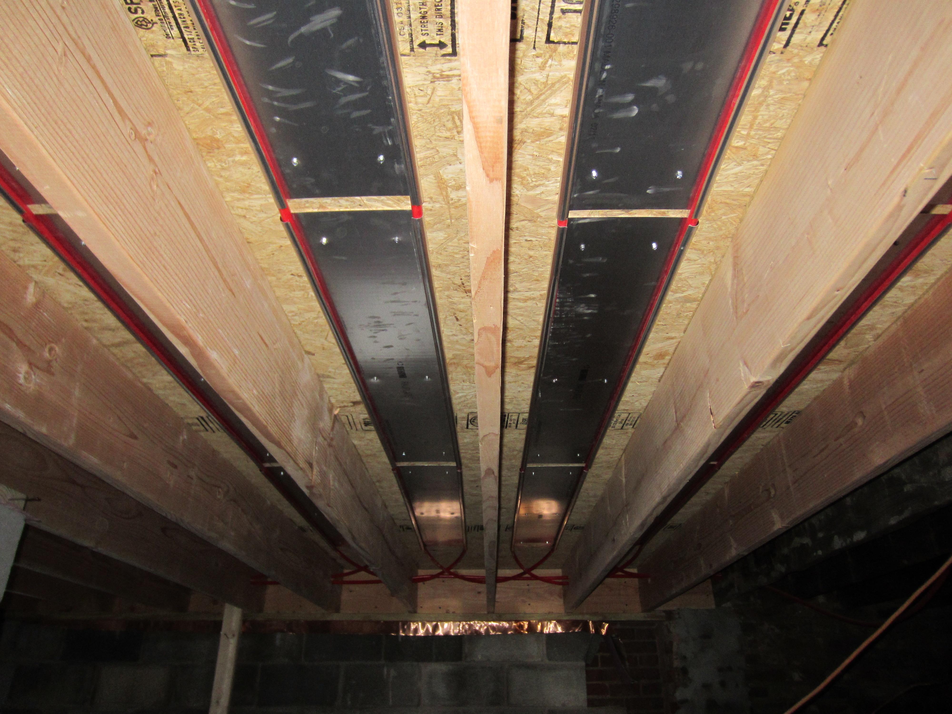 Basement utilities reach critical mass wolfestreetproject for Radiant floors